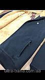 Тёплые мужские качественные толстовки - кофты на меху. Производство - Турция., фото 4