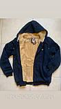 Тёплые мужские качественные толстовки - кофты на меху. Производство - Турция., фото 8