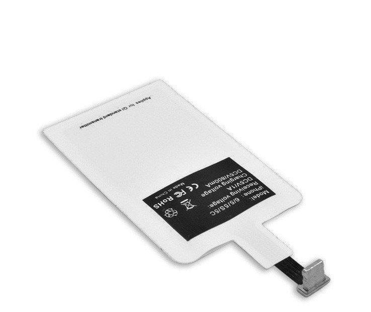 Универсальный Qi приемник для iPhone | Приемник для беспроводной зарядки lightning AR 71