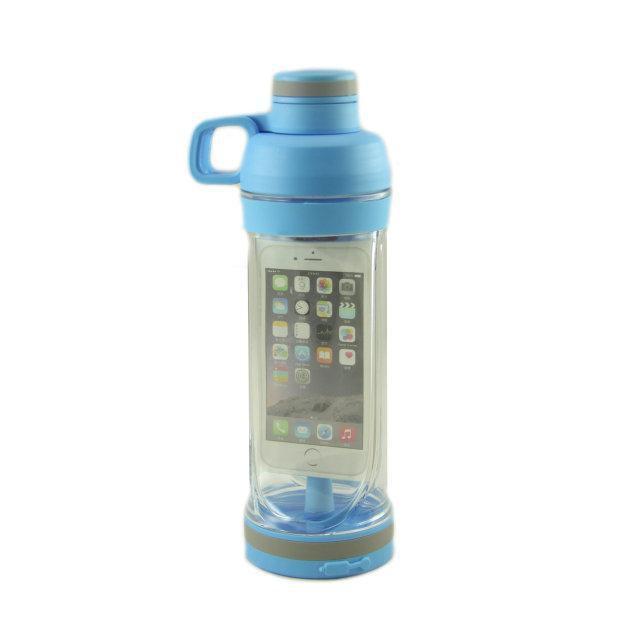 Бутылки для воды   Бутылка для питья спортивная   Спортивная бутылка Bottle с отделением для телефона 5s