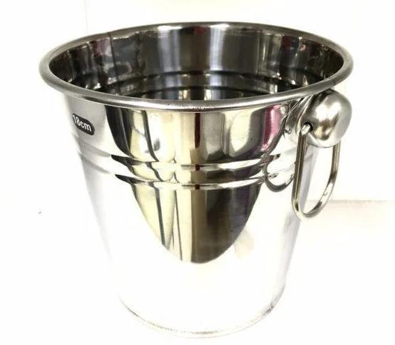 Ведра для охлаждения шампанского | Ведро для льда с ручкой Benson BN-665 16см