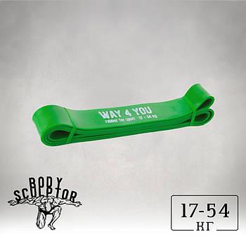 Гумка для підтягуваня / Резинова петля Зелена
