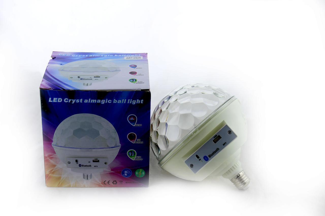 Диско лазеры   Диско лампа для вечеринок Musik Ball E27