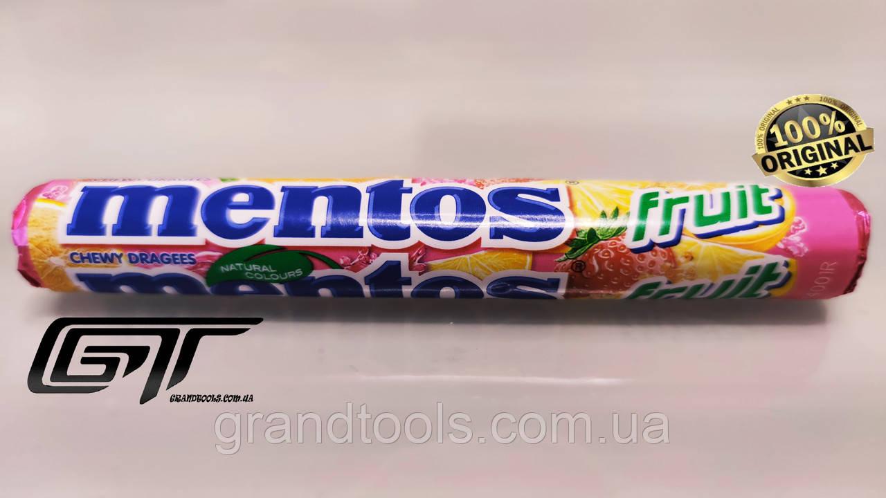 Mentos, Rainbow, 37 г, Жувальні драже, Фруктовий смак