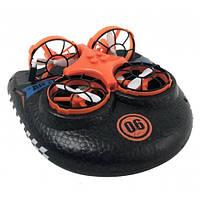 Катер-Дрон-Машинка UTM 3в1 Оранжевая | іграшка на радіокеруванні