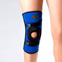 Ортез на коленный сустав неопреновый со спиральными ребрами Ortop NS-706 Тайвань