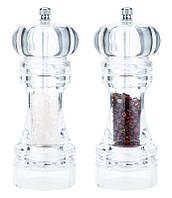 Мельница для перца и соли СВ-808, 18,5 см, акрил, керамический механизм