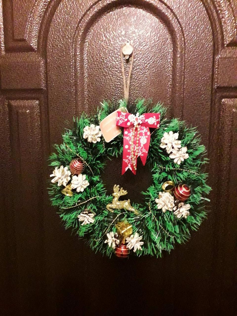 Рождественский венок 28см