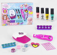 """Набор для маникюра """"Студия красоты"""", Fun Game, Детская декоративная косметика для девочек,Косметика для"""