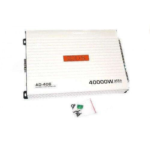 Компактный усилитель звука   Аудио усилители   Усилитель мощности звука Car AMP AD 406