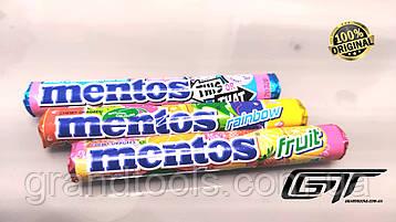Mentos, Rainbow, 37 г, Жувальні драже, ассорті 3шт