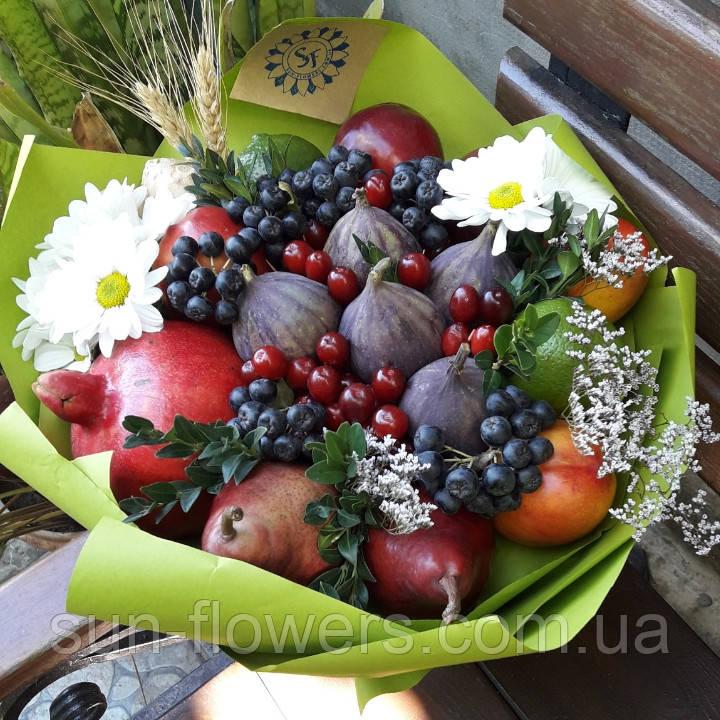 Червоний фруктовий букет
