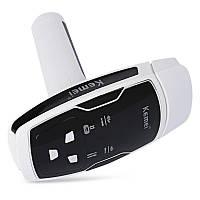 Эпилятор лазерный Kemei KM-6812 для тела и лица Белый