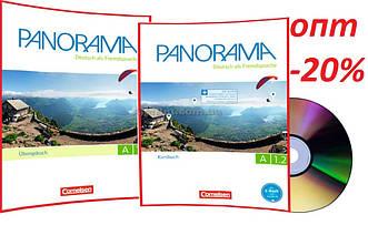Немецкий язык / Panorama/ Kursbuch+Arbeitsbuch+CD. Учебник+Тетрадь (комплект), A1.2/ Cornelsen