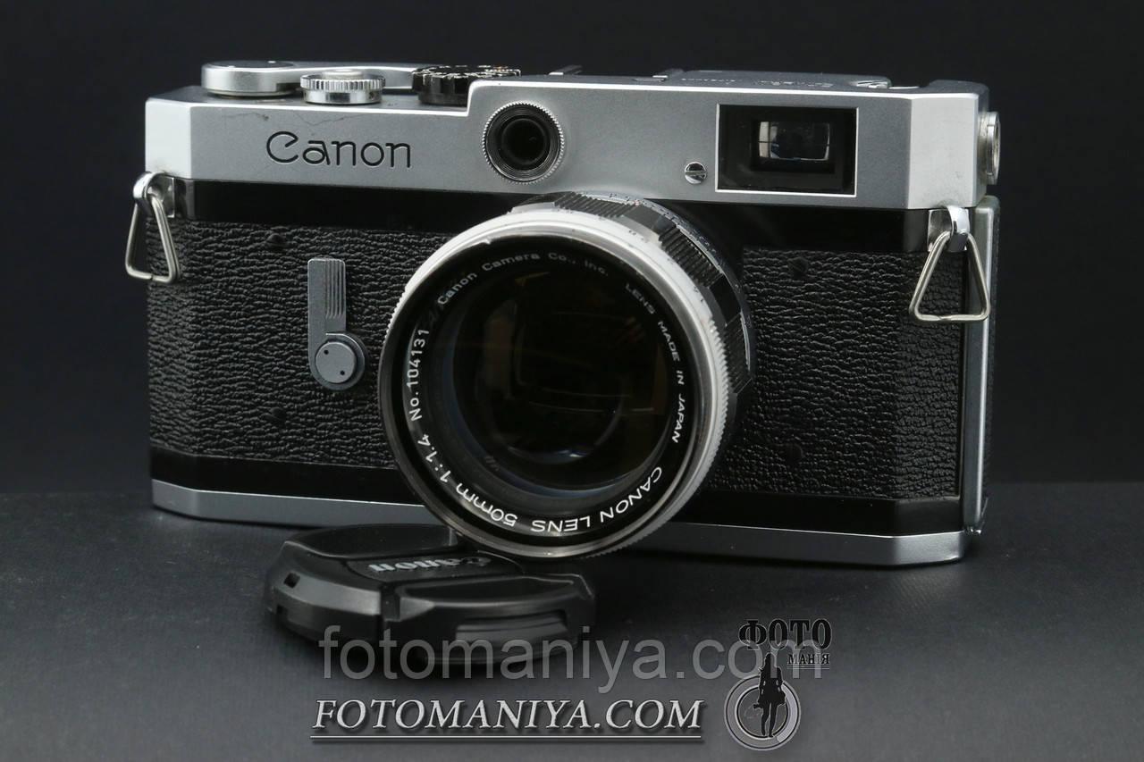 Canon P kit Canon Lens 50mm f1.4