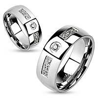 """Парные кольца """"Чувства"""" от Spikes, р. жен. 15.5, 16.5, 17.5, 18, муж. 19, 20, 20.5, 21.5, 22"""