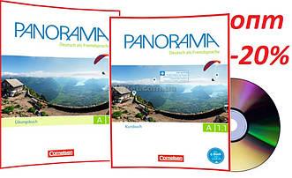 Немецкий язык / Panorama/ Kursbuch+Arbeitsbuch+CD. Учебник+Тетрадь (комплект), A1.1 / Cornelsen