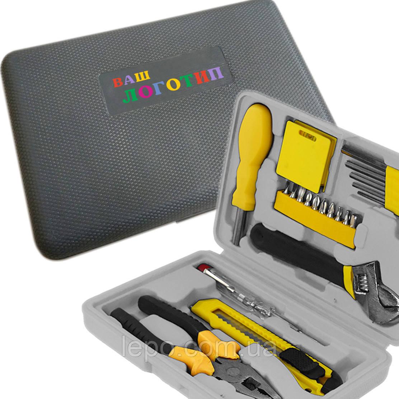 Набор инструментов с Вашим логотипом. Нанесение полноцветного изображение на инструменты.
