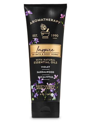 Крем для тела Bath and Body Works - Violet Sandalwood Eucalyptus