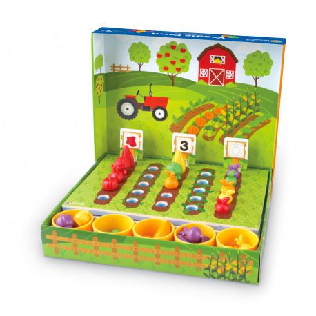 """Набор для сортировки """"Овощная ферма"""" Learning Resources"""