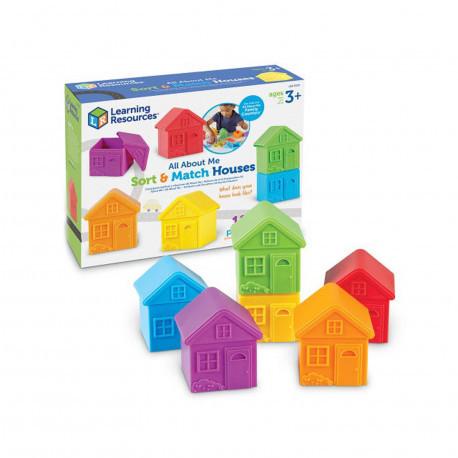 """Игровой набор """"Цветные домики"""" Learning Resources"""