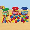"""Сортер-баночки с фигурами """"Цвет, форма, материал"""" Lakeshore, фото 2"""