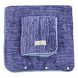 Набор полотенец подарочный для мужчин на кнопках микрофибра 140x70, 75x30см, фото 2