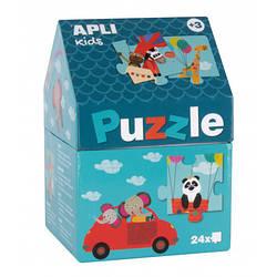 Пазл для малюків «Сафарі» 24 елемента Apli kids