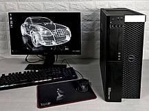 Рабочая станция Dell T5600/e5-2680x2/32Gb/HDD 500Gb/SSD 120Gb/Quadro K4000 3GB, фото 2