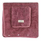 Набор полотенец подарочный мужской на кнопках микрофибра 140x70, 75x30см, фото 2