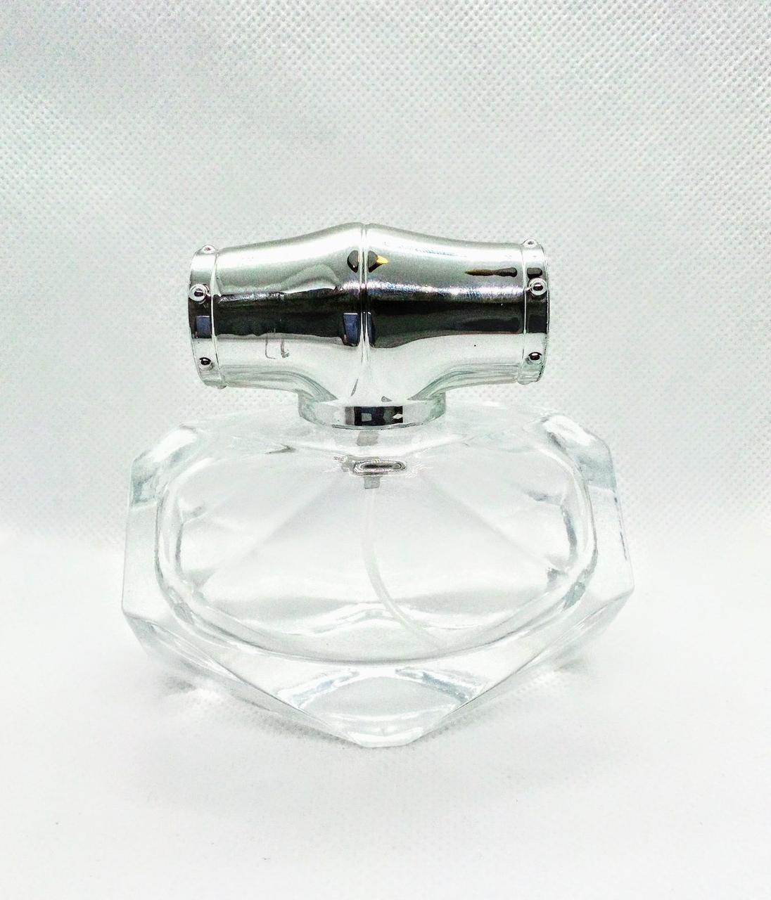 Флакон 50 мл скляний зі спреєм Бамбук