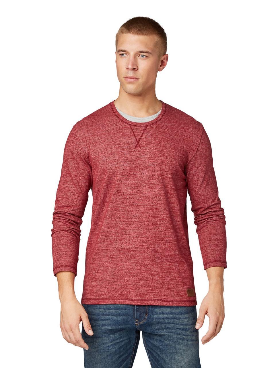 Лонгслив Tom Tailor 1013596 3XL Красный