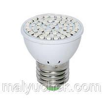 Led лампа фіто DIY ELECTRONIX e27 SMD 5 Вт для рослин GR - 05 60 діодів