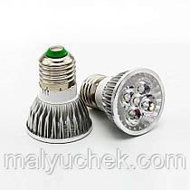 Світлодіодна фіто лампа DIY ELECTRONIX 10 W 220V E27 (Full Spectrum PS – 10)