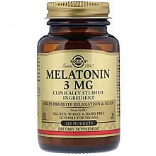 Мелатонін Solgar Melatonin 3 mg 120 tabs