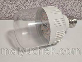 Фитолампа для рослин цоколь Е 27 на 15 ват DIY ELECTRONIX (лампа світлодіодна) – GRK 15