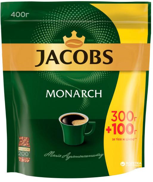 Кофе натуральный растворимый Jacobs Monarch 400 г. Оригинал.