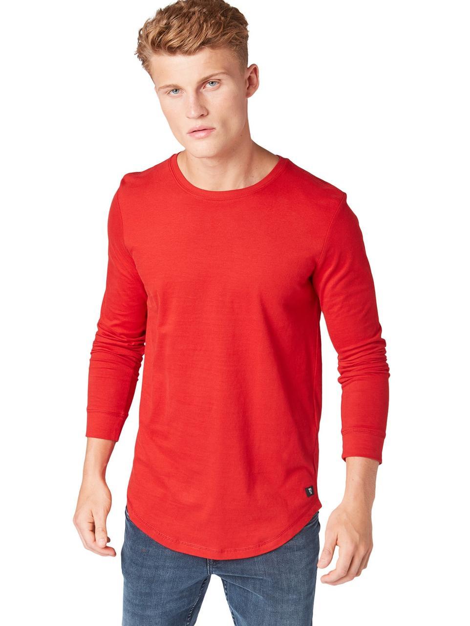 Лонгслив Tom Tailor 1013779 M Красный