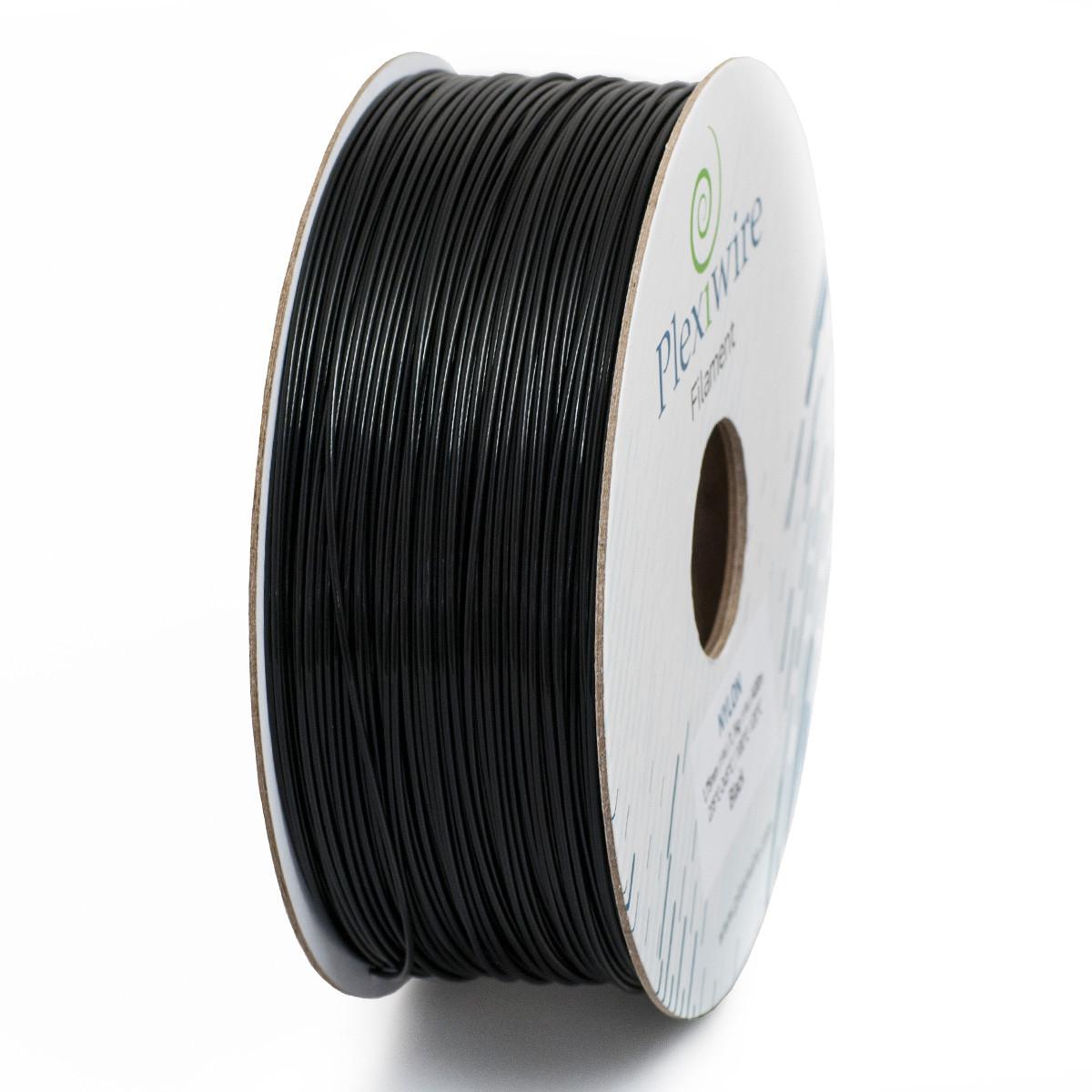 NYLON пластик Plexiwire для 3D принтера 1.75 мм Чорний (300 м / 0.825 кг)