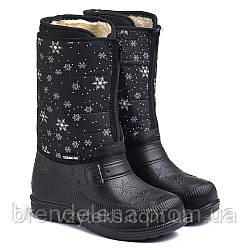 Дуті зимові жіночі чоботи піна р(38-41)