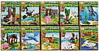Набір Майнкрафт з 10 конструкторів PRCK 63026 Вихованці на прогулянці Minecraft 63026, фото 2
