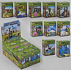 Набір Майнкрафт з 10 конструкторів PRCK 63026 Вихованці на прогулянці Minecraft 63026, фото 3