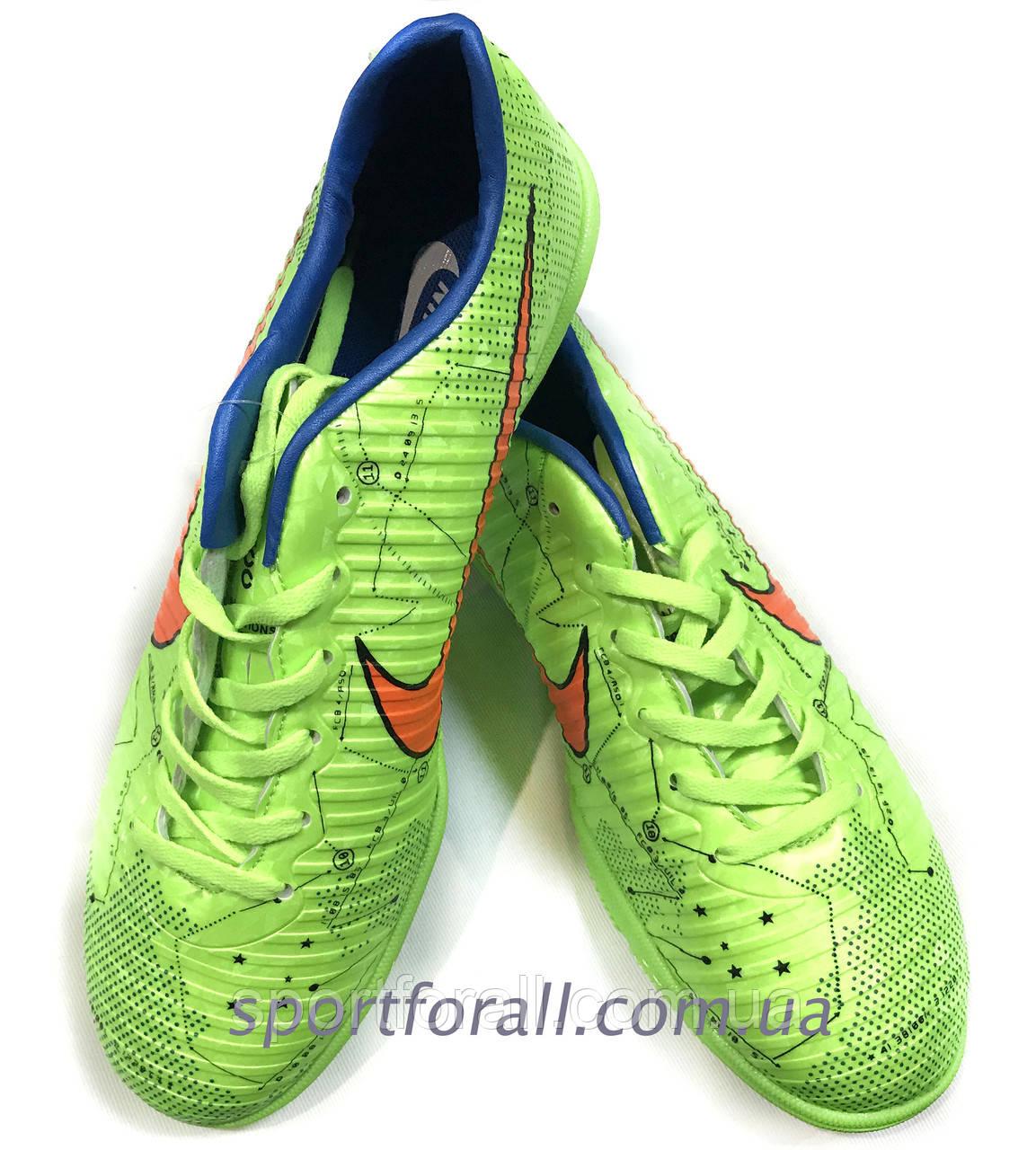 Футбольные сороконожки NIKE mercurial X Р-1 р.36,38 А-600