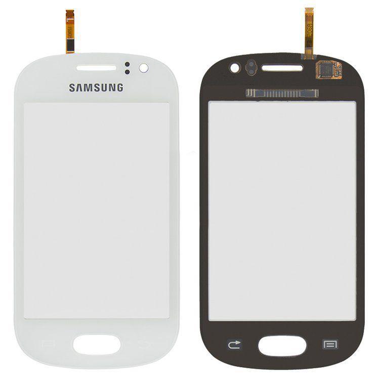 Сенсор (тачскрин) Samsung Galaxy Fame S6810 (original) White