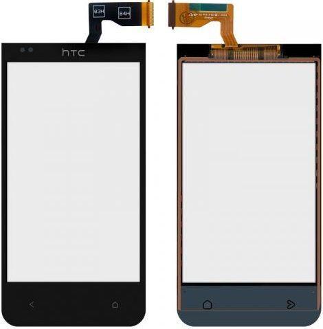 Сенсор (тачскрін) для телефона HTC Desire 300, Desire 301e (original) Black