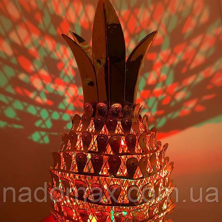 Лампа ананас вращающийся  5023, фото 2