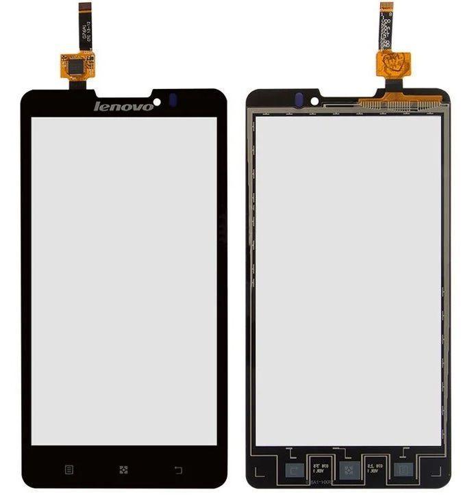 Сенсор (тачскрін) для телефону Lenovo P780 (original) Black