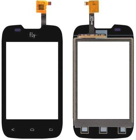 Сенсор (тачскрін) для телефону Fly IQ431 Glory, IQ432 Era Nano 1 (original) Black
