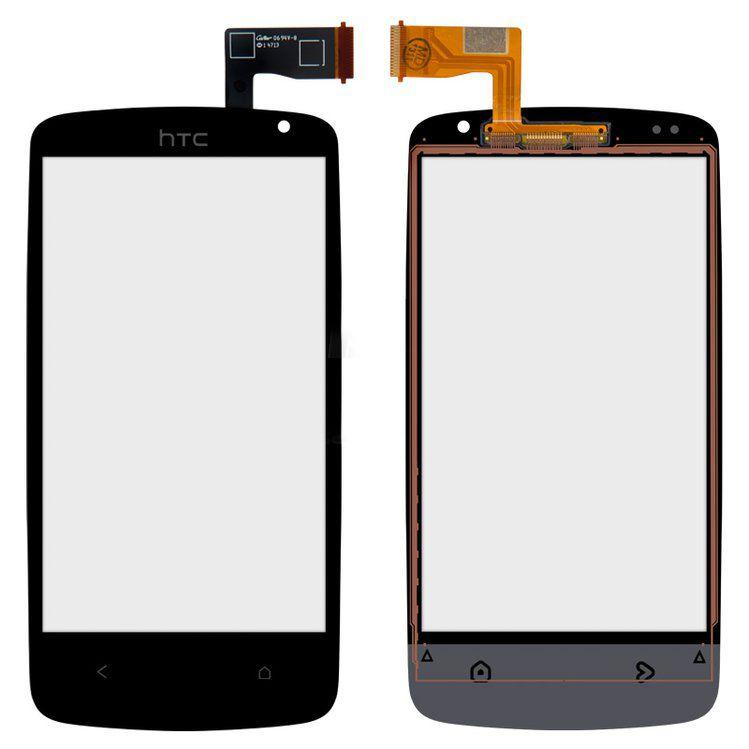 Сенсор (тачскрін) для телефона HTC Desire 500, Desire 506e (original) Black