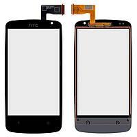 Сенсор (тачскрин) HTC Desire 500, Desire 506e (original) Black